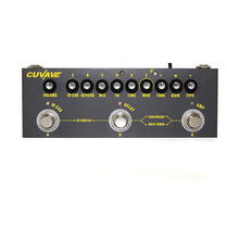 Cuvave Rechargeable Multi Effects Pedal Delay Chorus Phaser Reverb Effect Pedal Guitar Accessories Cube BABY Guitar Pedal