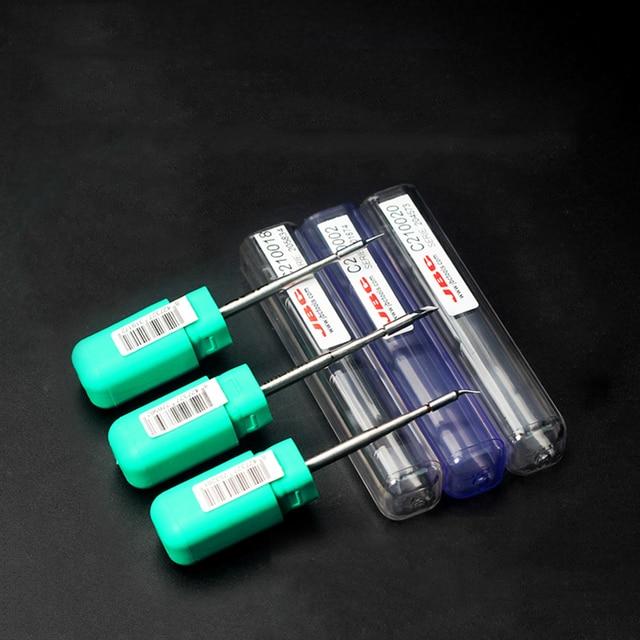 3Pcs Original JBC C210-020 C210-002 C210-018 soldering tips for T210-A soldering pen and CD-2SE soldering Station 1