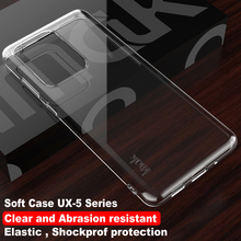 IMAK Crystal Shockproof Case for Samsung S20 Ultra Case Transparent Back Cover for Samsung Galaxy S20 Plus Etui S 20 + S20Ultra