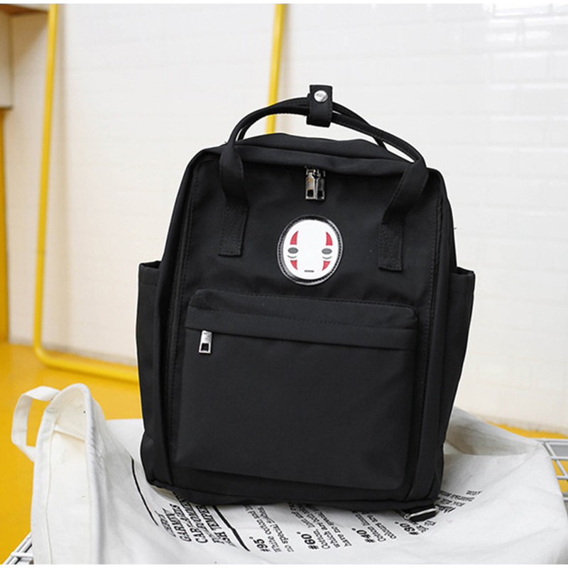 2019 New Women Canvas Backpack Printing Bag  Big Laptop School Backpack For College Student Travel Bag Harajuku Backpack Female