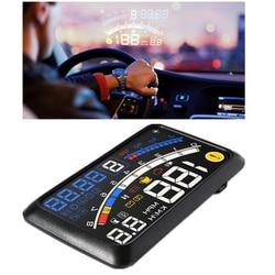 E4 Car HUD 5.5 inchOBD 2 II Head Up Display Winshield MPH KM/H Speed RPM Projector OBD2 Overspeed Warning System