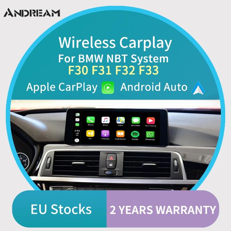 Беспроводной автомобильный интерфейс Carplay MMI Android для BMW Series 3 F30 F31 F34 Series 4 F32 F33 F36 NBT MuItimedia IOS