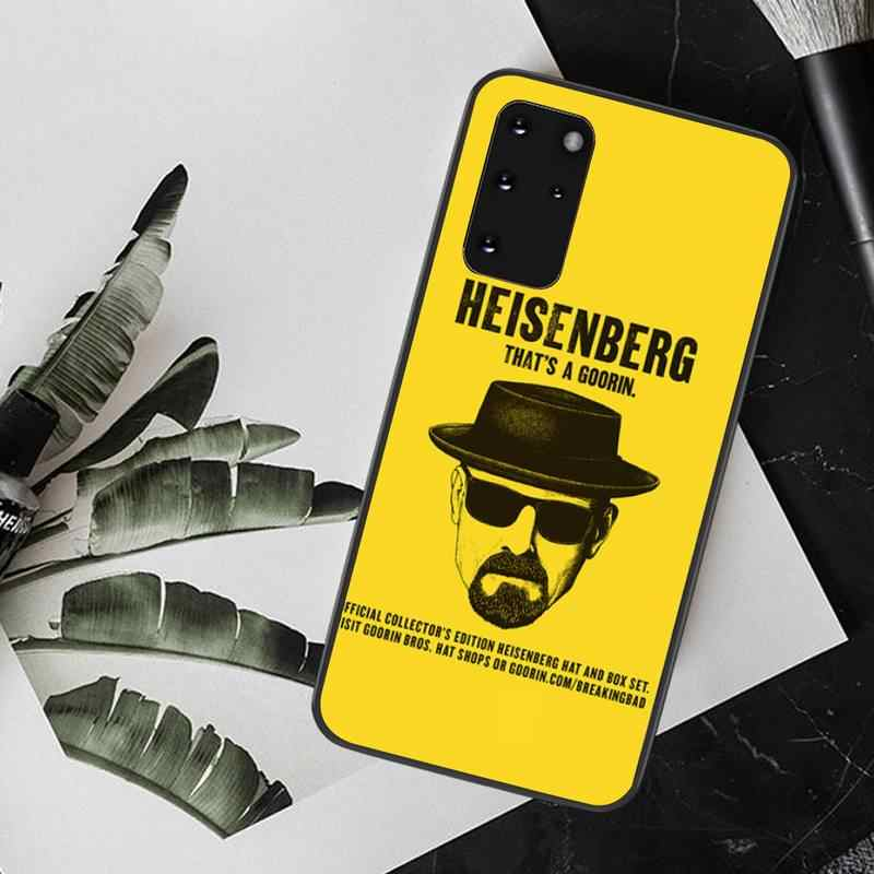 PENGHUWAN breaking bad heisenberg özel fotoğraf yumuşak telefon kılıfı için Samsung S20 artı Ultra S6 S7 kenar S8 S9 artı s10 5G