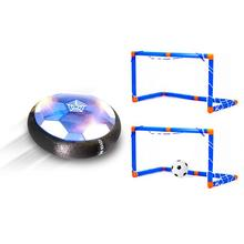 LED Flashing Hover Soccer Ball USB Rechargeable Floating Air Football Games Kids Children Football Toys Soccer goals