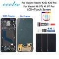 Цветной ЖК-дисплей и сенсорный экран для Xiaomi Redmi K20 K20 Pro с рамкой + пленка + Инструменты + клей для телефона Xiaomi Mi 9T 9T Pro