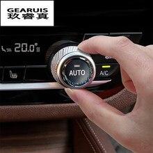 Auto Styling Für BMW 5 7 Serie G30 G38 6gt G32 X3 G01 G08 X4 G02 Kristall Klimaanlage schalter taste Ersatz Aufkleber Trim