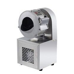 Handlowy krajalnica elektryczna krajalnica do warzyw marchewka ziemniaczana imbir 220V wielofunkcyjny wykrawacz automatyczny Sy 0710 w Roboty kuchenne od AGD na