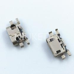 100 шт., Micro USB 5pin mini разъем, мобильный зарядный порт для Motorola Moto C Plus XT1723 XT1724, замена ремонта