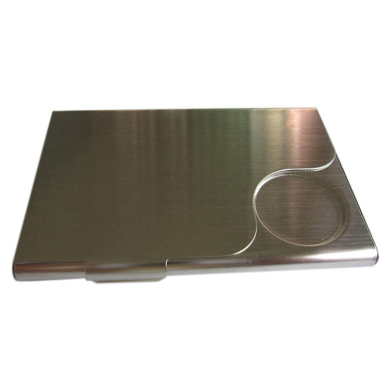 Stainless Steel Box Transmission Box Business Card Credit Card Holder
