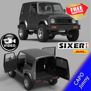 Image 1 - RC car Capo sixer1 kit crawler Suzuki  Jimny Samurai 1/6 crawler fully metal free shipping