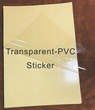 A4 PVC Sticker Vinyl/Glossy/Matte/Kraft/Matte-Gold/Sliver/Metal-Gold/Sliver Colorful For Laser Printer Strong Adhesive