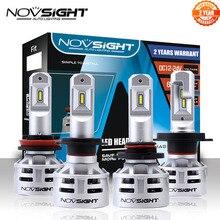 NOVSIGHT H7 LED H4 led H11 HB3 9005 HB4 9006 Car LED Headlight Bulbs 60W 10000LM Automobile Headlamp Fog Lights 12V 24V