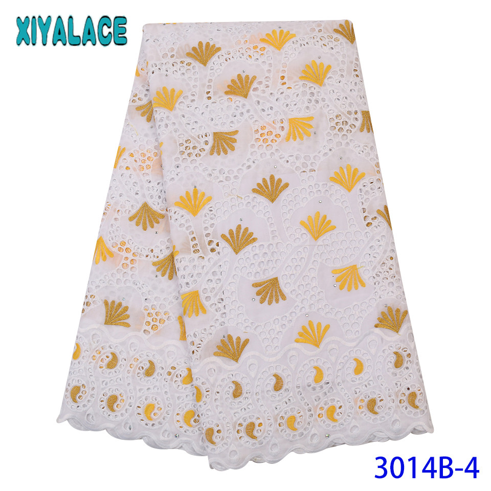 French Lace Fabric 2019 Hot Sale African Fabric Lace High Quality Swiss Lace With Hole Stones Colorful KS3014B