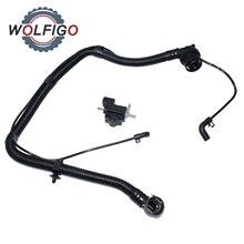 WOLFIGO PCV Positive Kurbelgehäuseentlüftung Schlauch Rohr Bypass Ventil Für Buick Encore Chevrolet Cruze Sonic Trax 55568267 25193343