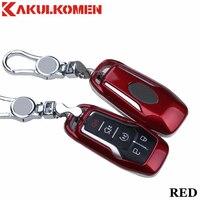 2019 novo 5 botões chave do carro fob caso capa chaveiro para ford taurus mustang F 150 explorer fusão mondeo borda lincoln mkc mkz mkx|button car key|car key case coverfob cover -
