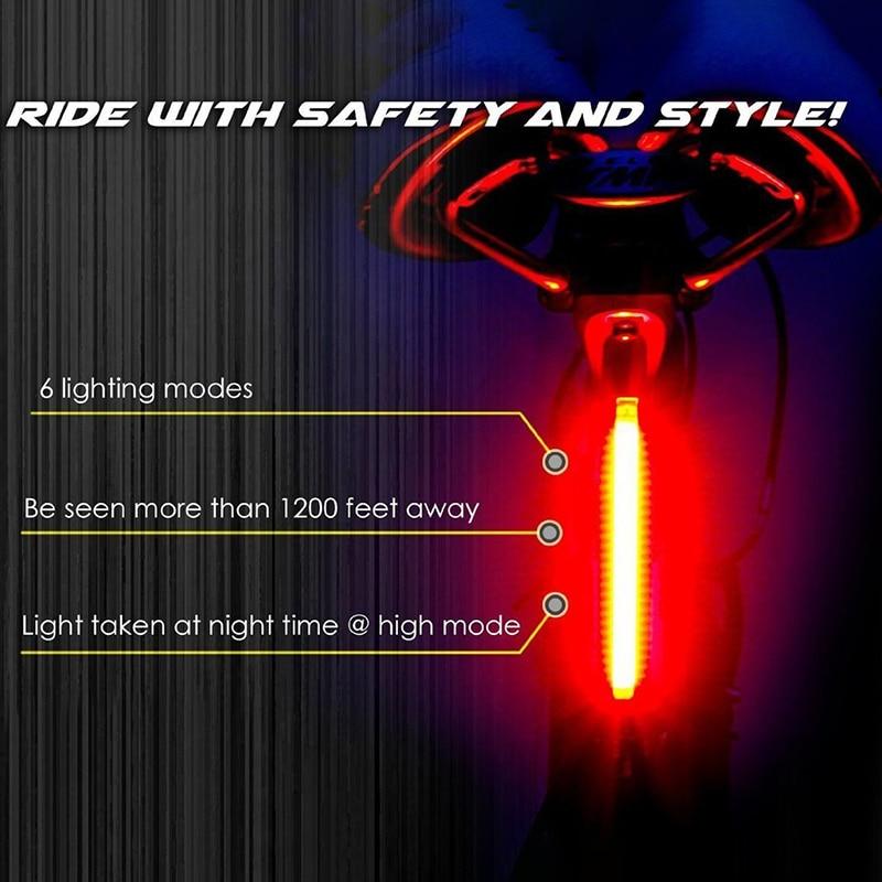 Biciklete e riciklueshme e dritës për biçikleta USB Cikli i - Çiklizmit - Foto 5