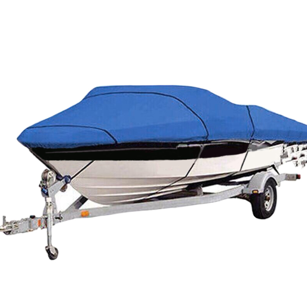 210D Trailerable Waterproof Universal Sunproof Solid Protector Boat Cover Oxford Cloth Pro Style Fishing Ski For Yacht