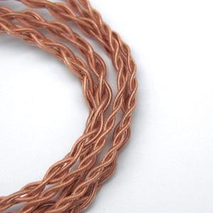 Image 4 - מקורי FAAEAL היביסקוס כבל טוהר גבוה נחושת 2pin 0.78mm אוזניות להחליף תיקון 3.5mm סטריאו/2.5mm/4.4mm כבלים מאוזנים