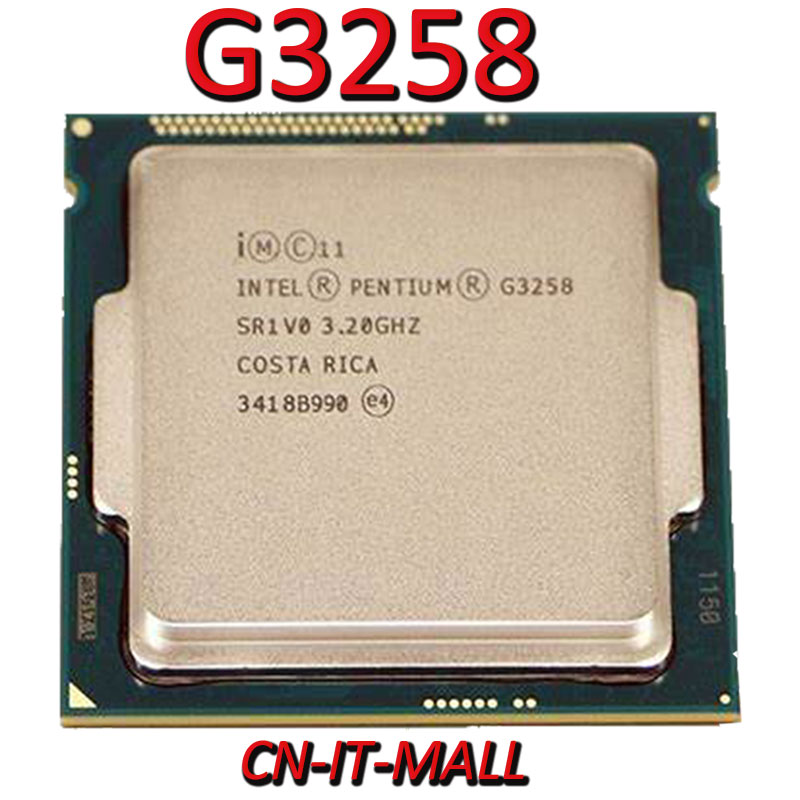 Intel G3258 CPU 3.2G 3M 2 Core 2 Thread LGA1150 Processor