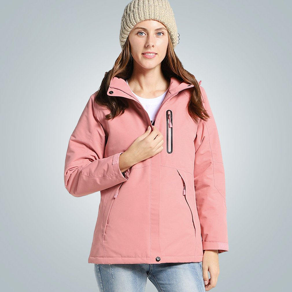 Electric Heating Jackets USB Security Intelligent Thermostat Electric Jackets Constant Temperature Winter Warm Coat For Women