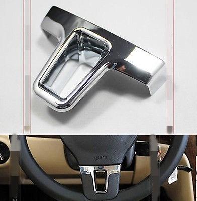 FOR VW PASSAT B7 2012 2013 TIGUAN TOURAN STEERING WHEEL CHROME INSERT COVER TRIM Tool
