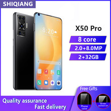 Globale version SOYES X50pro Android Handy 6,8 zoll 2GB RAM 32GB ROM 4800mAh Smartphones Gesicht ID entsperren Handys