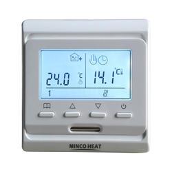 Лучшая цена M6.716 220V Красочные ЖК-дисплей Экран программируемый Температура контроллер электрическим подогревом комнатный термостат