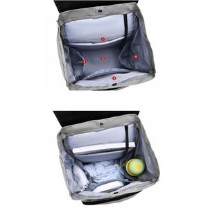 Image 2 - 2020 yeni su geçirmez bebek bezi çantası anne annelik Nappy sırt çantası bebek arabası bebek organizatör hemşirelik değişen çanta bakımı anne için