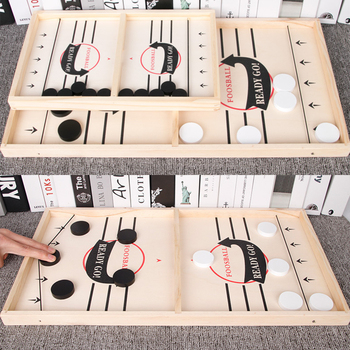 Table Hockey Paced Sling Puck Board Games SlingPuck Winner Party Game Toys For Adult Child Family Party Game Toys Fast Hockey