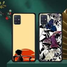 Anime samurai champloo caso do telefone huawei para huawei p9 p10 p20 p30 p40 lite por psmart 2019