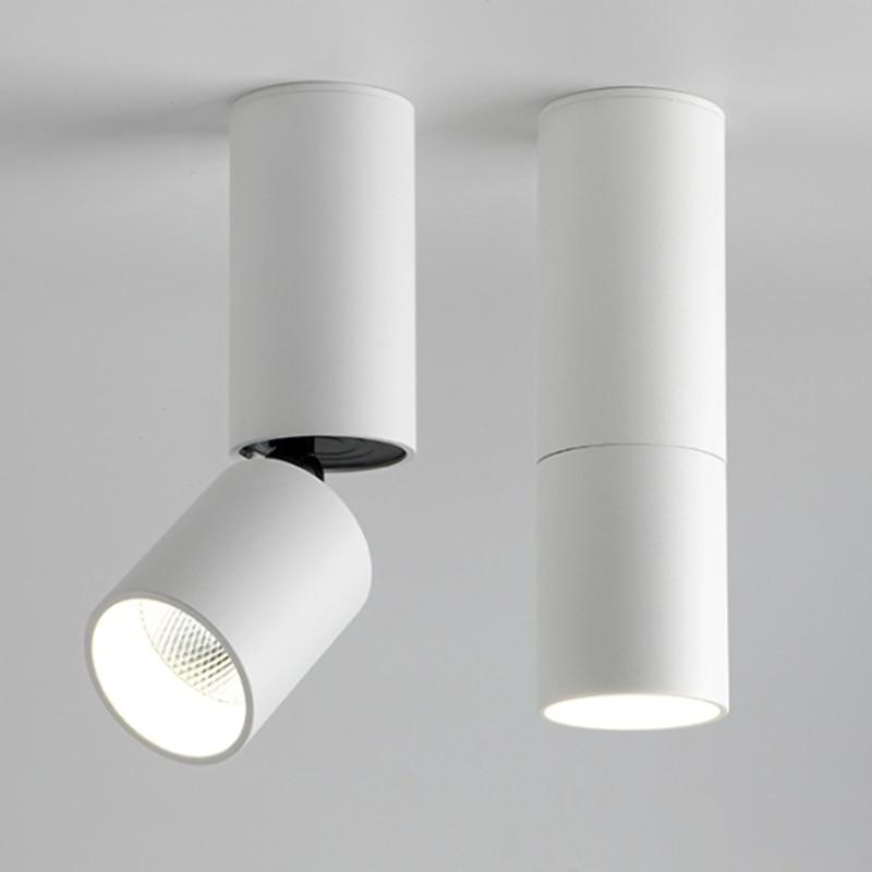 Versenkbare Dimmbare LED Downlights 10W15W20W COB LED Decke Spot Lichter 85-265V LED Wand Lampe Warm Kalt Weiß innen Beleuchtung