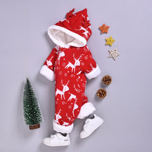Christmas Romper Baby Romper Winter Baby Clothes