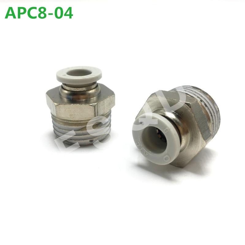 APC8-01 APC8-02 APC8-03 APC8-04 Airtac śruba poprzez wspólne armatura pneumatyczna APC serii elementy pneumatyczne