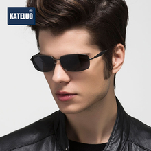 KATELUO 2020 Designer Mens Sunglasses Polarized UV400 Lens Men Sun Glasses Mirror Male Glasses Eyewears Accessories 2245
