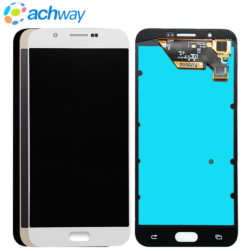 100% Tested Amoled Lcd For <font><b>Samsung</b></font> Galaxy A8 A800 <font><b>A8000</b></font> A800F Phone LCD Display Touch Screen Digitizer Sensor Replacement image