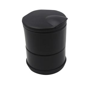 Yolu 1 шт. Автомобильный светодиодный пепельница для мусора монета контейнер для хранения сигар пепельница лоток для автомобиля Стайлинг уни...