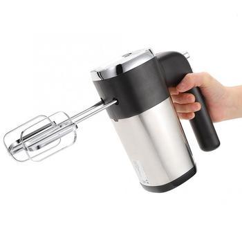 5 Speed Handheld Electric Food Mixer 500W Multifunctional Electric Blender Dough Blender Egg Beater Milk Frother EU 220-240V