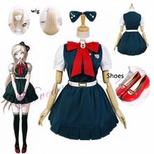Wig Cosplay-Costume School-Uniform Anime Super-Danganronpa Nevermind Sayonara Women 2-Sonia