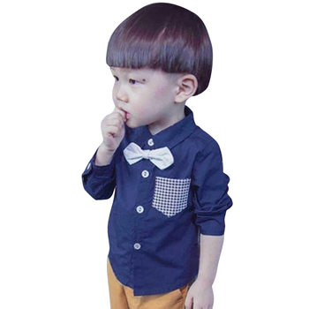 #8222 Chłopięca bluzka Patchwork chłopięca topy wzór w kratkę dziecięce koszule dla chłopca Toldder ubrania dla szkoły dla chłopca 6 8 10 12 1 #8221 tanie i dobre opinie CN (pochodzenie) Na co dzień COTTON Poliester Pełna Pasuje prawda na wymiar weź swój normalny rozmiar Suknem Chłopcy