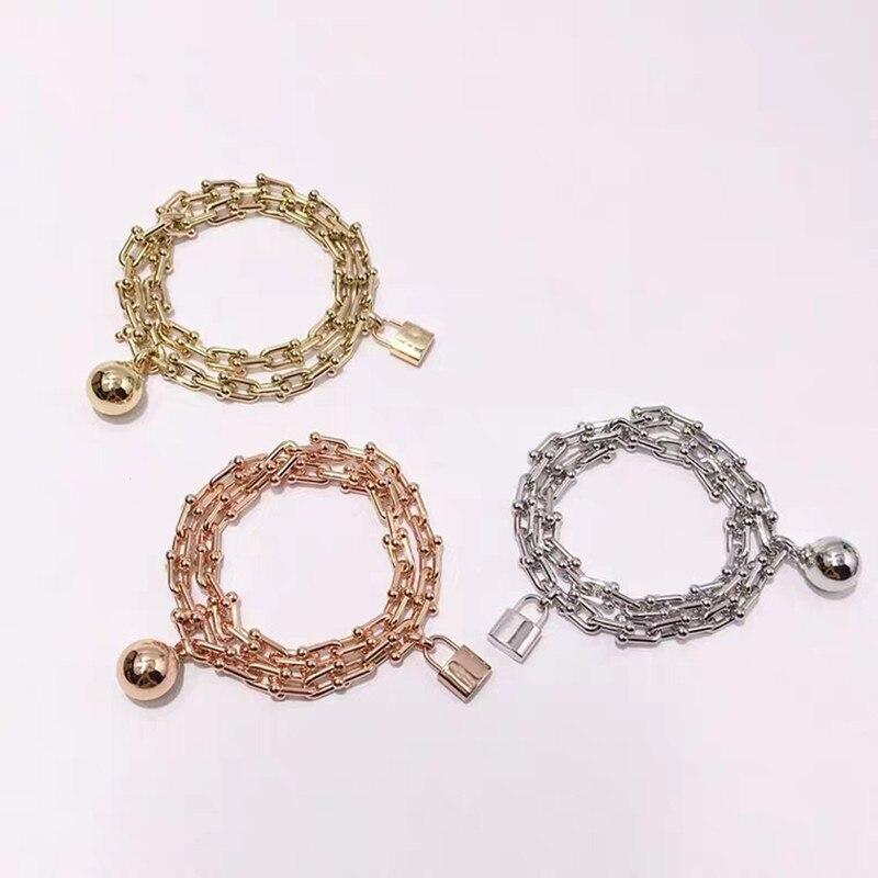Argent Sterling 925 classique populaire Original mode nouvelles dames collier bijoux cadeau de vacances