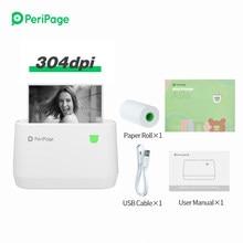 Peripage A9 – imprimante Portable sans fil pour tickets de caisse, connexion USB, Bluetooth, 80mm