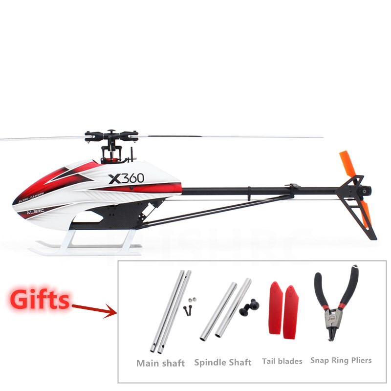 ALZRC-X360 FAST FBL KIT Frame RC Helicopter Airplane For GAUI X3