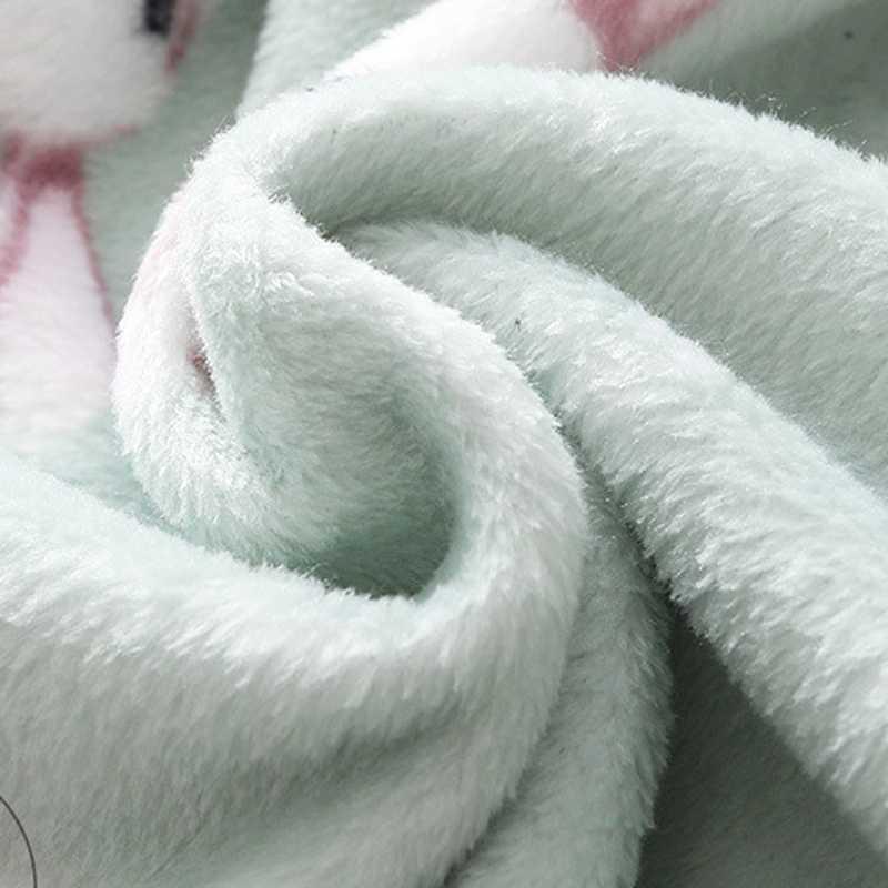 뜨거운 소년 소녀 잠옷 유아 아기 키즈 카디건 목욕 가운 타월 나이트 가운 만화 양면 플란넬 가운 가운 가운