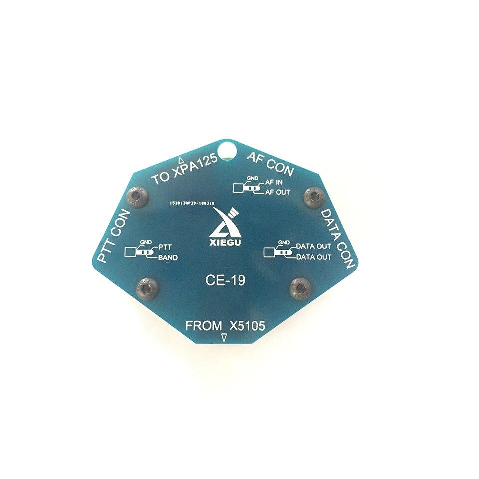 CE-19 CE19 данных интерфейс карты расширения для XIEGU X5105 ACC PTT