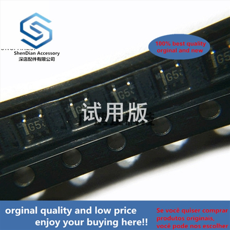 10pcs 100% Orginal New UMG5N TR Dual NPN Composite Band Stop Transistor SOT-353