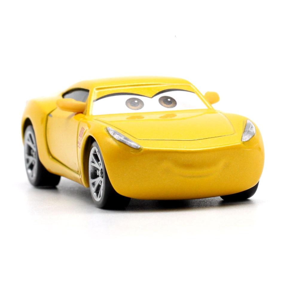 Disney Pixar тачки 3 20 стильные игрушки для детей Молния Маккуин Высокое качество Пластиковые тачки игрушки модели персонажей из мультфильмов рождественские подарки - Цвет: 35