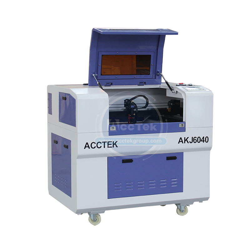 Multi Function Laser Cnc Machine Mini Lasercutter AKJ6040