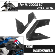 Moto Side Diversion Windshield For BMW R1200GS R1200 R 1200 GS GS1200 LC 2013-2016 Windscreen Fairing Panel Frame Wind Screen
