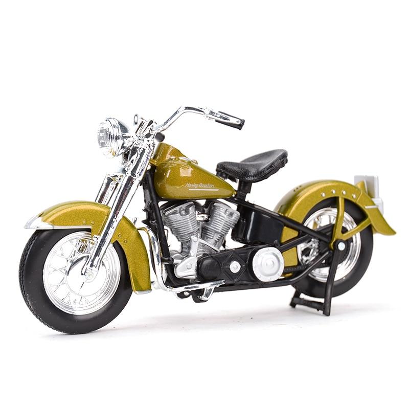 Maisto 1:18 1953 74FL HYDRA Glide Diecast Alloy Motorcycle Model Toy