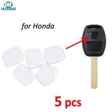 5pcs/lot, Square Emblem Symbol Sticker Logo For-Honda Remote Keys